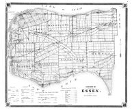County Map, Essex County 1880