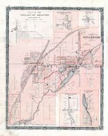 Grafton Village, Perrytown, Osaca, Millbrook Village, Welcome, Canton, Northumberland and Durham Counties 1878