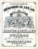 Northumberland and Durham Counties 1878