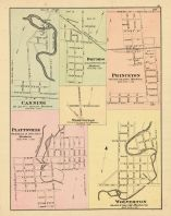 Canning, Plattsville, Drumbo, Princeton, Washington, Wolverton, Oxford County 1876