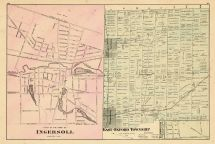 Ingersoll, East Oxford Township, Eastwood, Oxford County 1876