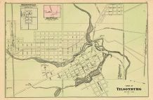 Tilsonburg, Brownsville, Mount Elgin, Oxford County 1876