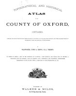 Title Page, Oxford County 1876