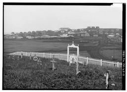 General View From Cemetery East Of Village