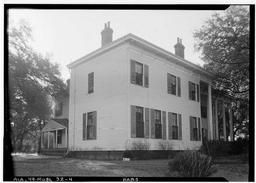 Historic American Buildings Survey W, Judge John Bragg House, 1906 Spring Hill Avenue, Mobile, Mobile County, AL