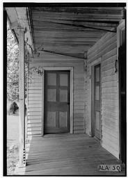 Historic American Buildings Survey E, Judge John Bragg House, 1906 Spring Hill Avenue, Mobile, Mobile County, AL