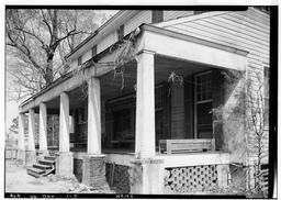 Historic American Buildings Survey Alex Bush, Photographer, March 24, 1937 Close-up Of Front From West Corner