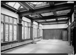 Gymnasium, Third Floor, West Front, From South
