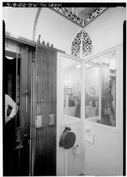 Elevator Interior, From Southeast