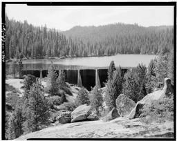 General View Of Dam Looking Upstream (south) From