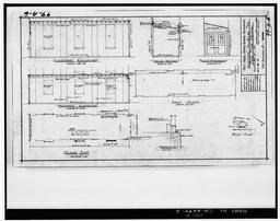 Photocopy Of Drawing 99-a-6, Addition To Building 99 For Fire Truck, March 1941.