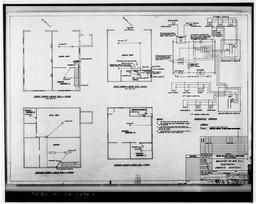 Photocopy Of Drawing 99-e-2, Building 99 And 99a Electrical Lighting Control, January 1957.