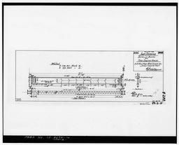 Photocopy Of Drawing 99-s-4, Shop Drawing, Detail Of Beams For Fire Engine House, April 1900.