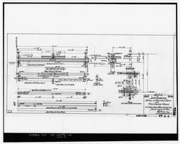 Photocopy Of Drawing 99-s-6, Shop Drawing, Detail Of Hoisting Beam For Fire Engine House, May 1900.
