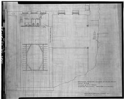Photographic Copy Of The Original Architectural Drawing (1906) In The Possession Of The Colorado Historical Society, Denver, Colorado