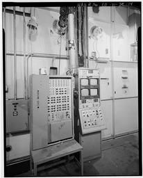 Interior Detail Of Control Panel In Building 1606
