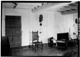 Historic American Buildings Survey Jack E, Boucher, Photographer March 1961 Fireplace Wall Of 1675 Bedroom On Second Floor