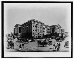 Photocopy Of Drawing (from Library Of Congress) Artist Unknown 1891 South Front From The Southwest