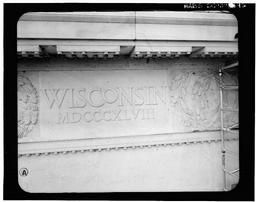 Detail Of South Entablature Frieze (wisconsin)