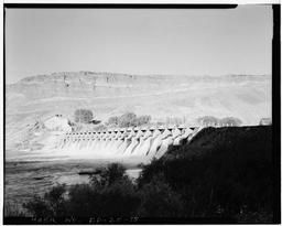 View Of Spillway, Looking Downstream From Left Bank Toward North