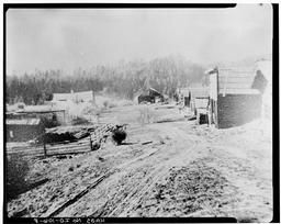 Overview Of The Townsite, Looking West Photographic Copy Of Historic Photograph
