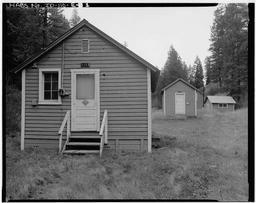 View Of Front Of Bunkhouse, Facing Northwest