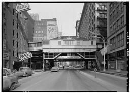 Station Entrance At Intersection Of State And Van Buren Sts.
