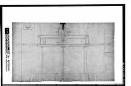 Photocopy Of A Drawing (original In The Collection Of The Pl&c, Shelf 115, Drawing 75) Hoisting Wheel At The Guard Locks, Northern Canal, 1848