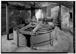 Main Pulley And Belt Drive To The 1847 Francis Turbine At The Pawtucket Gatehouse: Jack Boucher, Photographer 1976