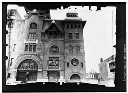 Nw (front) Facade, West End--inclined Copy Photograph Of Photogrammetric Plate Lc-haer-gs05-b-1971-106l.