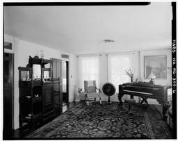 Looking North In Front Parlor, First Floor