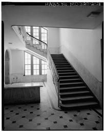 Main Floor, Rotunda, Detail Of Side Stairs
