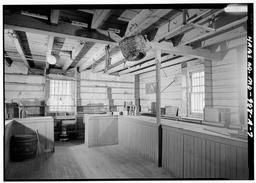 View Of Interior, West Rear Corner Of Store (note: Section Of Counter To Rear, Right Side Houses The Cash Drawer)