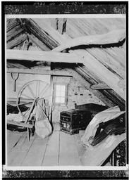 View In Attic, Showing Framing