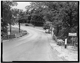View Of North Approach, Looking South, C