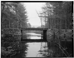 View Northeast, Southwest Elevation, Looking Through Bridge,