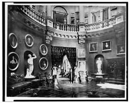 Photocopy Of Photograph (original In Collection Of New Jersey Historical Society) First Floor, Great Hall C1890