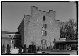 General View Of North Rear And West Side, Frontier House, 450 Center Street, Lewiston, Niagara County, NY