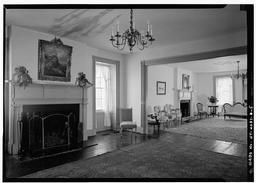 Interior, Second Floor, General View Of Ballroom, Frontier House, 450 Center Street, Lewiston, Niagara County, NY