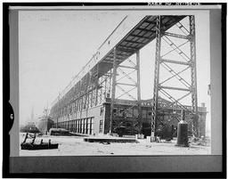 View, Looking Southeast, Of Galleries C And D, July 17, 1922 (original Negative Destroyed; Print In Barge Canal Construction Photographs, Box 12, Series 501, Accession No