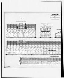 Photograph Of Line Drawing In Possession Of The Engineering Division Of The Directorate Of Engineering And Housing, Watervliet Arsenal, New York