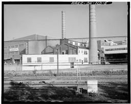 Original Power Plant, Looking Northeast