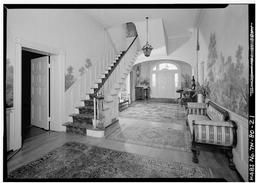 Stairhall, First Floor, From West