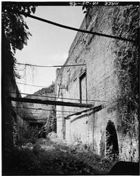 Interior View Of Foundry Building Ruins.