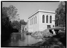 View Of New Hydroelectric Operating Plant