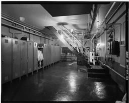 Interior View Of Central Control Station, Basement, Looking North