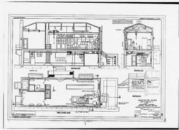 Lock - Electrical System - Central Control Station - General Arrangement Of Machinery (ml-4-71/1-fs), January 1934