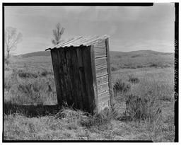 BWPhotos 374013, Pfeiffer Homestead, Outhouse, 90'  North of Homestead Cabin, Moose, Teton County, WY