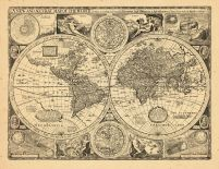 Map - Page 1 - NEW AND ACCVRAT MAP OF THE WORLD,A, NEW AND ACCVRAT MAP OF THE WORLD,A