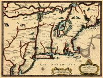 Map - Page 1 - MAP OF NEW ENGLAND AND NEW YORK,A, MAP OF NEW ENGLAND AND NEW YORK,A